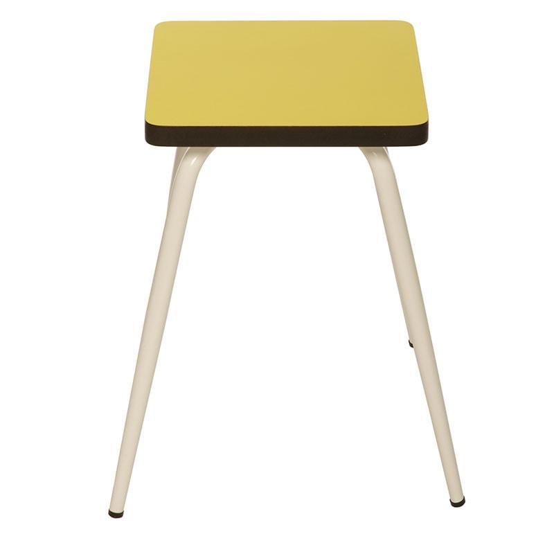 assises resto design tabouret jaune