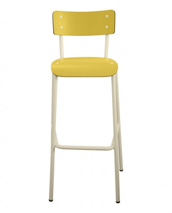chaises haute bar retro formica
