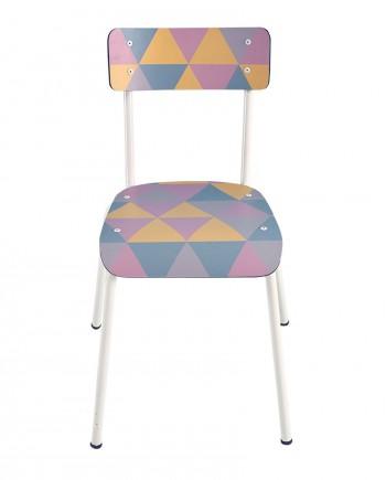 geometrique adulte chaises salon cuisine