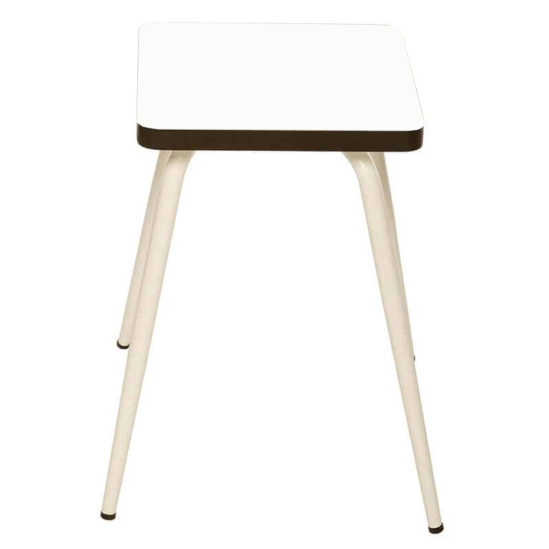 tabouret bas tabourets r tro design marcel formica blanc. Black Bedroom Furniture Sets. Home Design Ideas