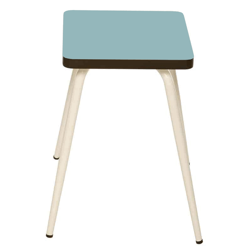 tabouret bas tabourets design marcel formica bleu jade. Black Bedroom Furniture Sets. Home Design Ideas