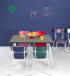 chaises difference table horloges