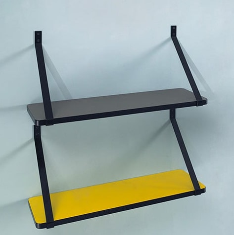 tag re rosy tag res vintage rosy formica jaune citron. Black Bedroom Furniture Sets. Home Design Ideas