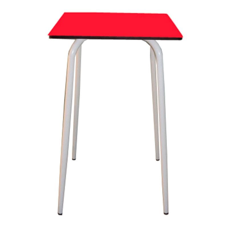 Table de bar tables de bar v ra formica 70x70 rouge for Table de bar rouge