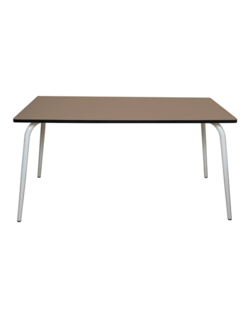 TABLE TAUPE FORMICA