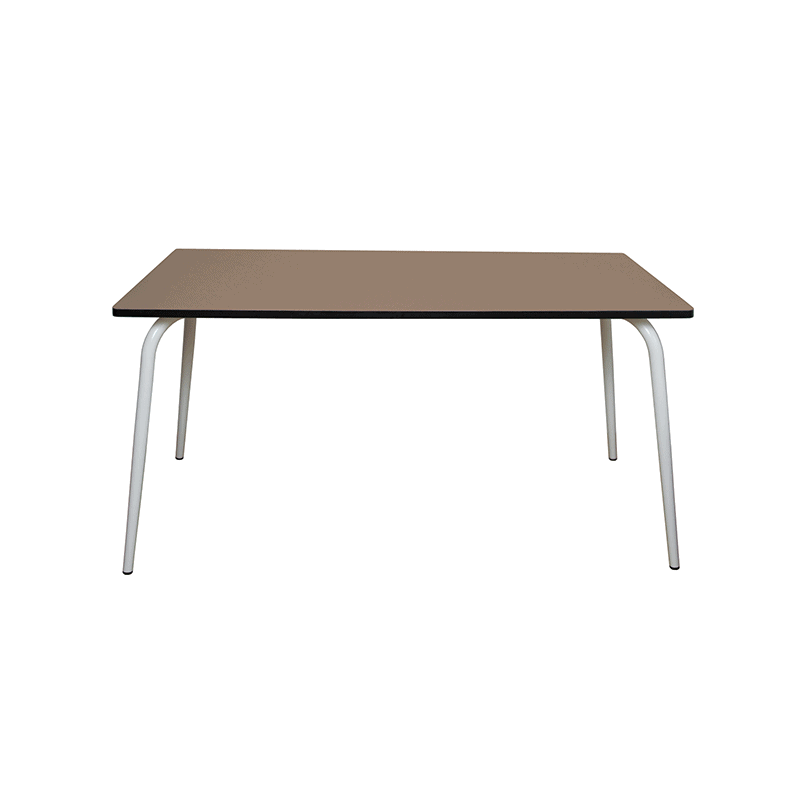 table manger tables design v ra 160x80 formica taupe. Black Bedroom Furniture Sets. Home Design Ideas