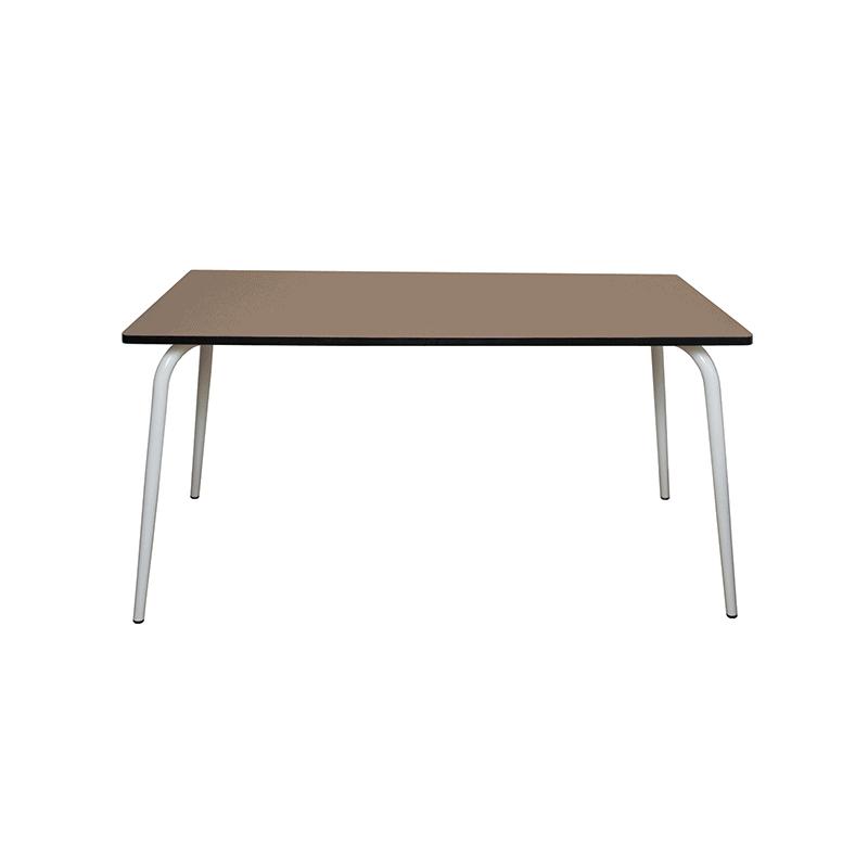 table manger tables design v ra 160x80 formica taupe. Black Bedroom Furniture Sets. Home Design Ideas
