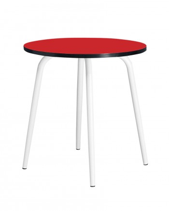 table ronde formica 3 couvert