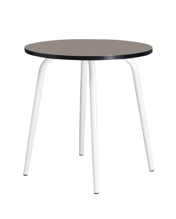 taupe leon table rond 2 3 couvert