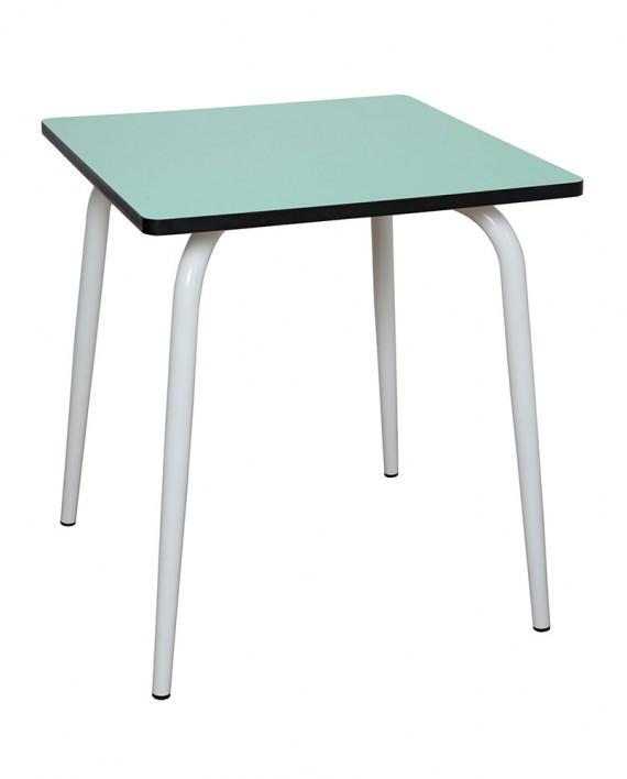table carré formica cuisine salon