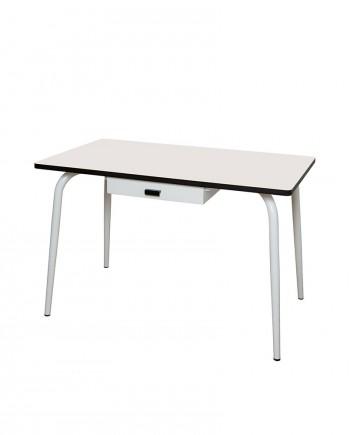 table bureaux tiroir ecolier