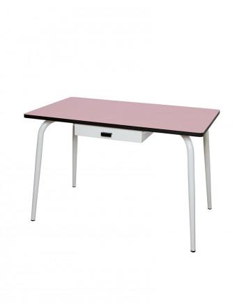 bureaux table à manger rose