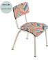 chaise little suzie mini labo chevrons les gambettes écolier retro design
