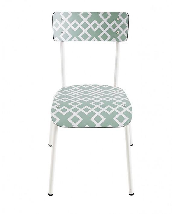 grafic chaise adulte vintage