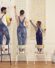 papiers peints mur deco