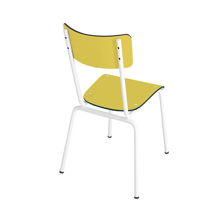 chaise élémentaire retro design