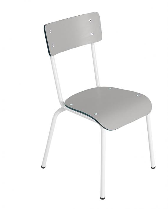 chaise ecolier retro design