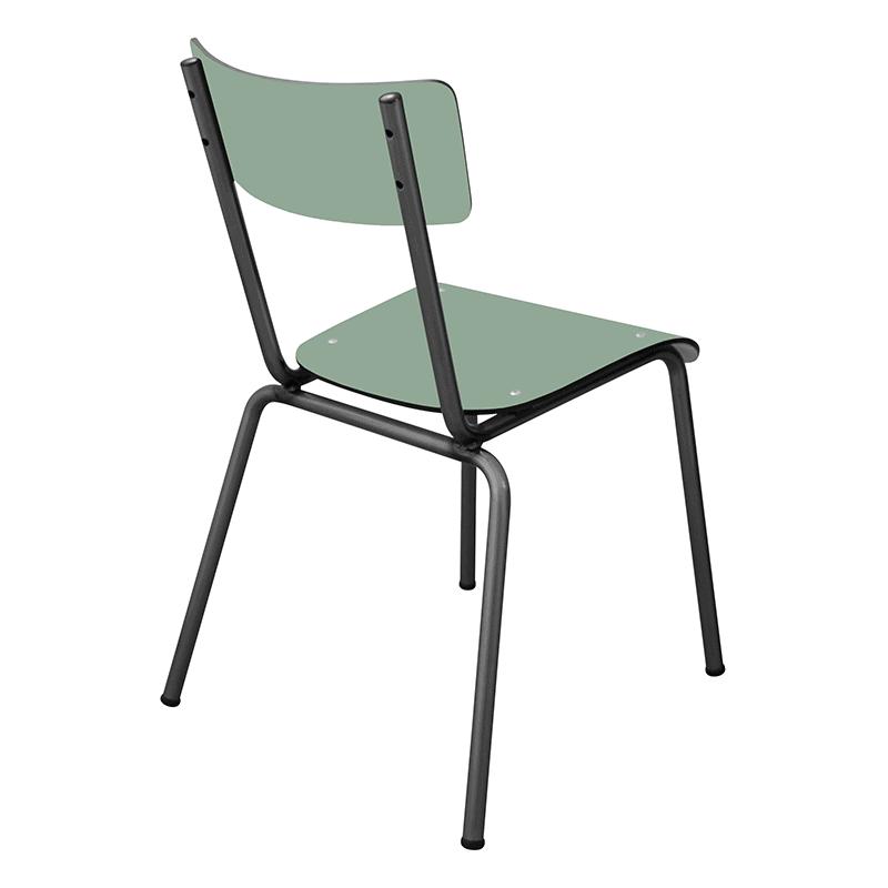 Chaise d 39 colier chaise design suzie r tro vert kaki for Chaise kaki