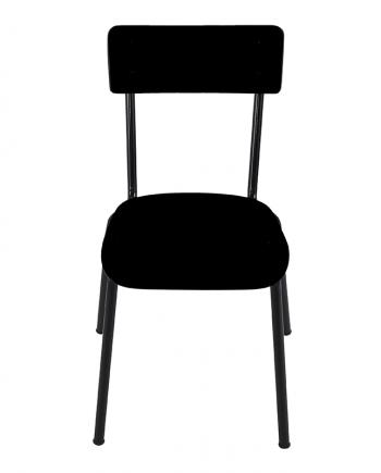chaise suzie les gambettes noir retro design adulte