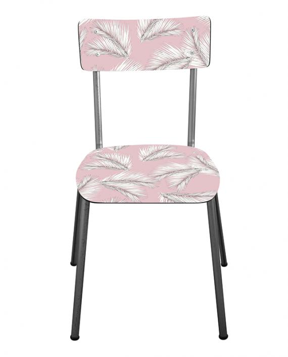 chaise suzie adulte palme les gambettes retro