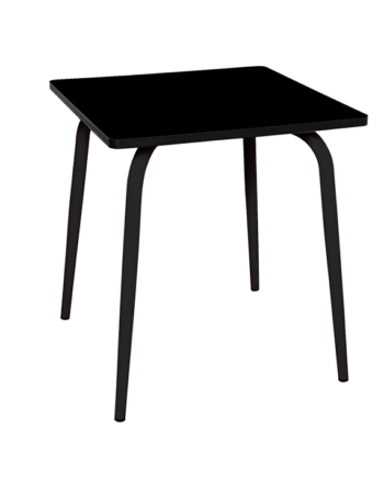 TABLE FORMICA NOIR