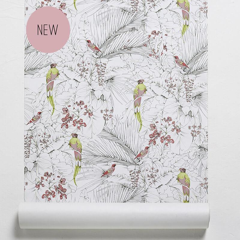 les gambettes papier peint come jungle