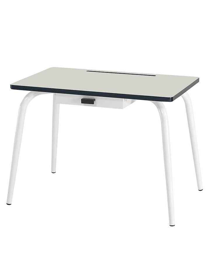 Romy Child Desk Grey Gris Bureau ÉlÉmentaire