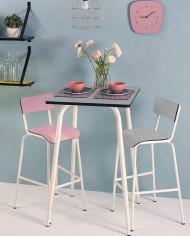 TABLE-HAUTE-GRIS-PERLE-CSH75-VIEUX-ROSE-ET-GRIS-PERLE