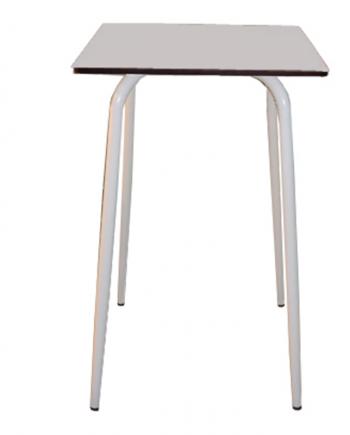table haute gris comptoir