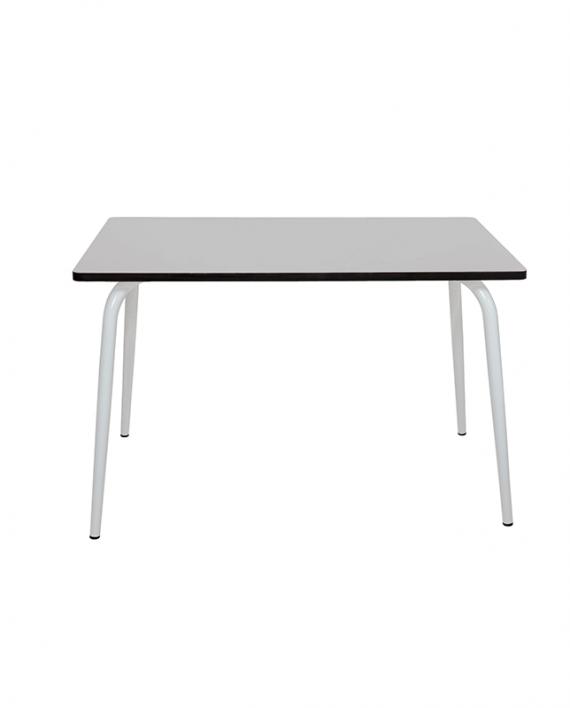 table gris perle design formica