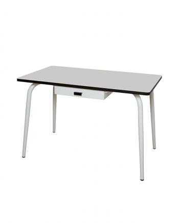 table tiroir gris ecolier