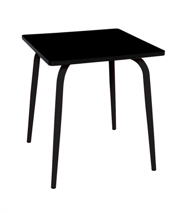 table noir en formica