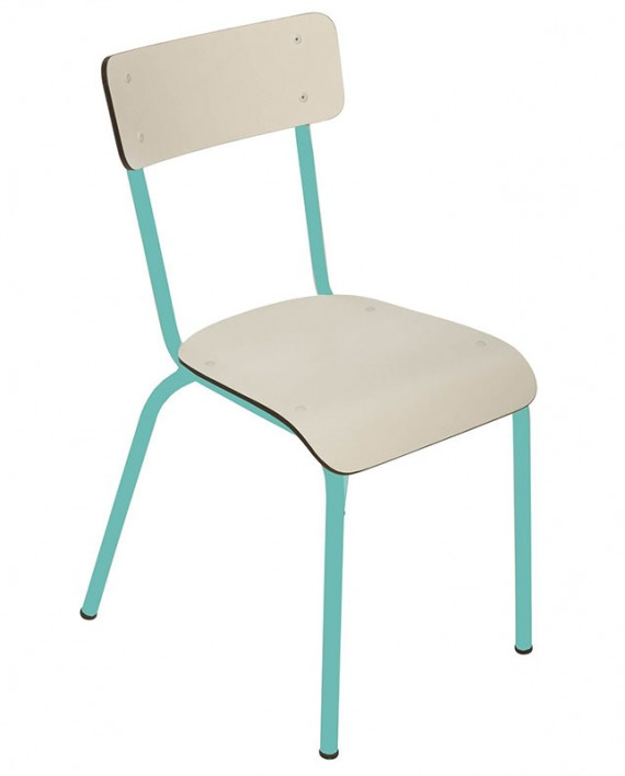 bicolore jade blanc chaise