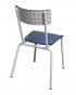 suzie chaise adulte check imprimé carreaux les gambettes vintage