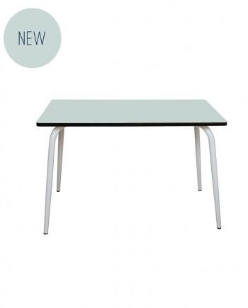 table design menthe retro