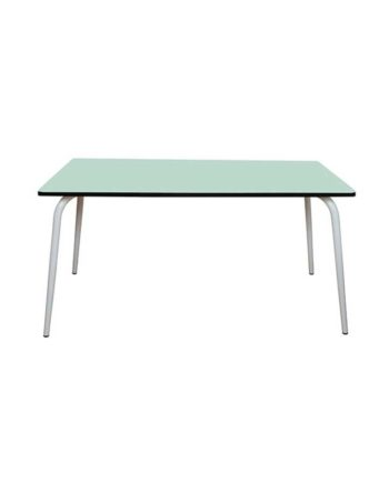 table 160x80 6 couverts menthe