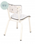 confetti chaise ecoliers vintage