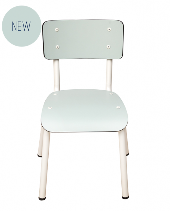 ecoliers chaises vintage assise