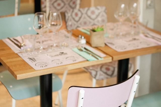 atelier-gourmand chaise table