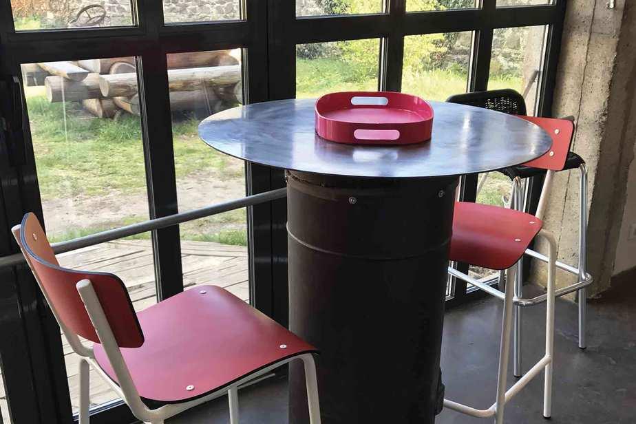 chaises de bar 65cm rouge chaise haute