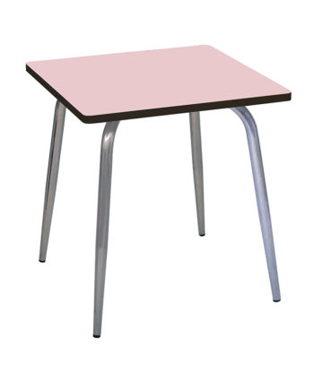 TABLE FORMICA ROSE DESIGN