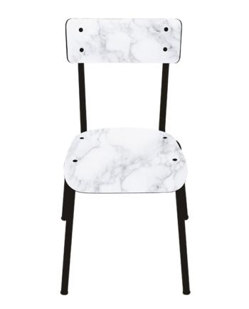 chaise marbre