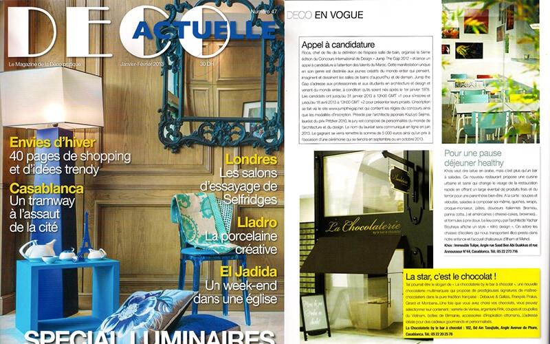 Les Gambettes deco actuelle parution media presse decoration retro design chaise suzie