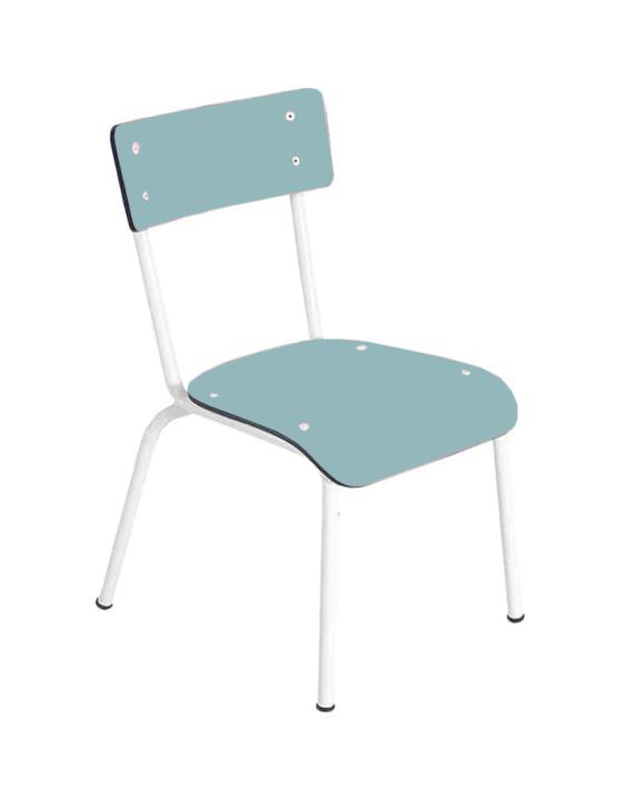 chaise bleu enfant