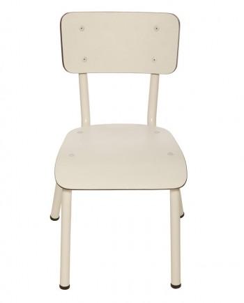 chaises retro design ecolier elementaire enfants