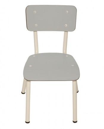 gris chaises ecoliers bureaux ecole