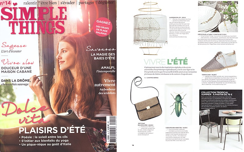 SIMPLE THINGS MAGAZINE LES GAMBETTES SUZIE CHAISE RETRO