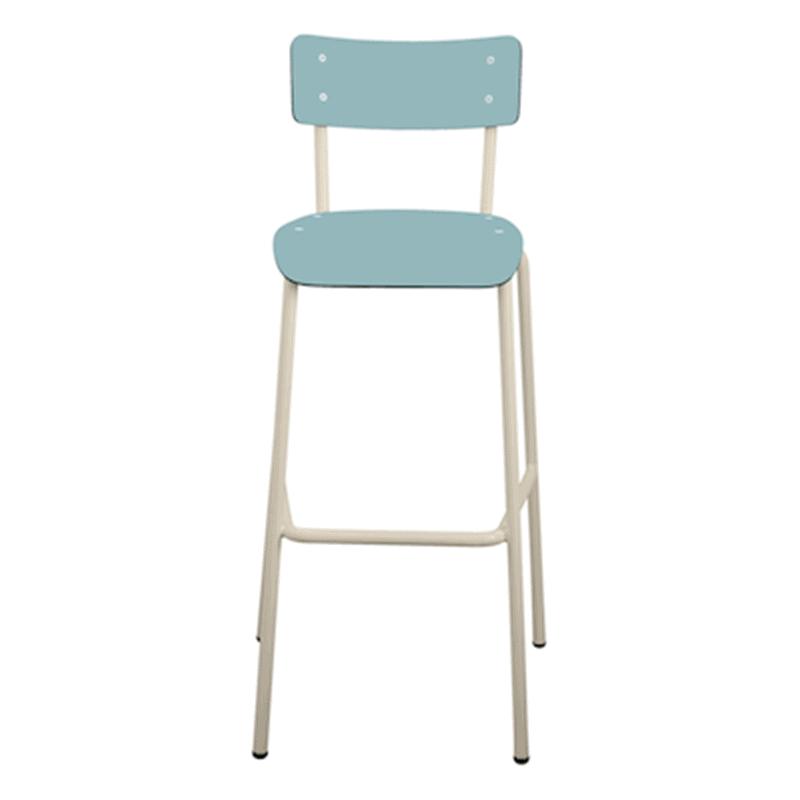 chaise de bar tabourets de bar formica suzie 75cm bleu jade. Black Bedroom Furniture Sets. Home Design Ideas