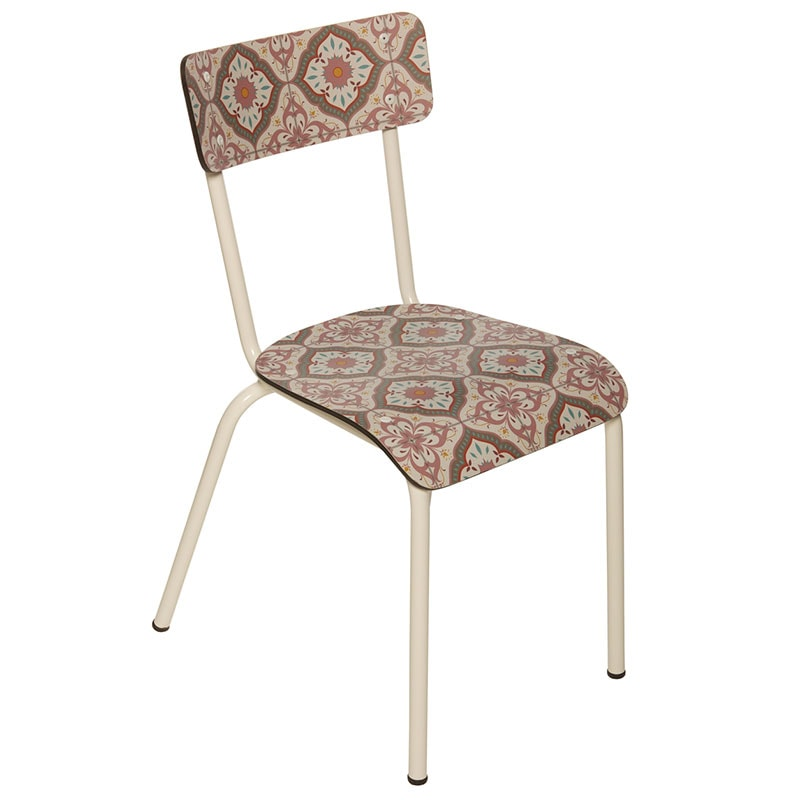 chaise carreaux de ciment identité adulte