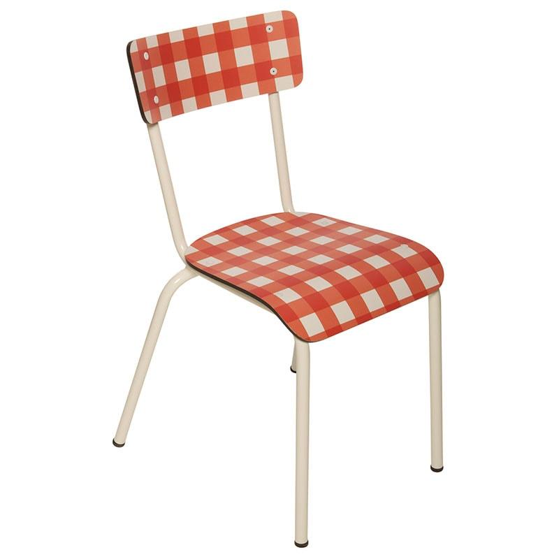 vichy chaise bureau cuisine